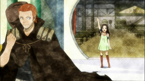 FAIRY TAIL(フェアリーテイル) 壁紙 probably with a サーコート, サーコット titled *Gildarts & Cana *