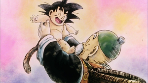 *Goku & Granpa Gohan*