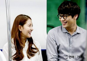 """Hope for Dating"" Official litrato Releases - Gi Dae (Daniel Choi) and Yeon Ae (BoA)"