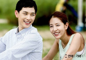 """Hope for Dating"" Official Foto Releases - Jin Guk (Siwan) and Yeon Ae (BoA)"