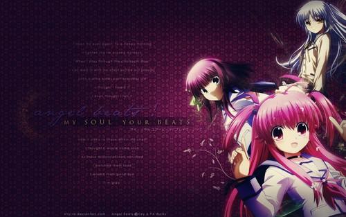Kawaii Anime wallpaper probably with a concert called ღ√♡Kawaii♡^ღ(Angel Beats)