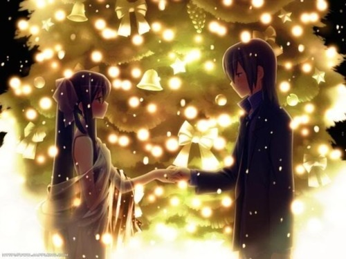 Kawaii Anime wallpaper containing a fountain called ♥Kawaii Couples♥