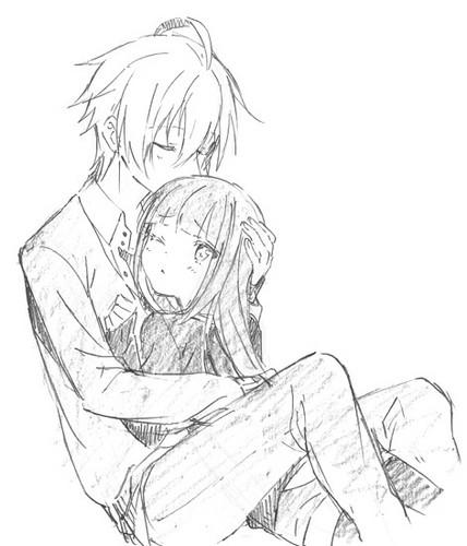 Kawaii Anime wallpaper entitled ♥Kawaii Couples♥