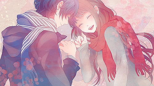Kawaii Anime wallpaper entitled ♥Kawaii Couples♥
