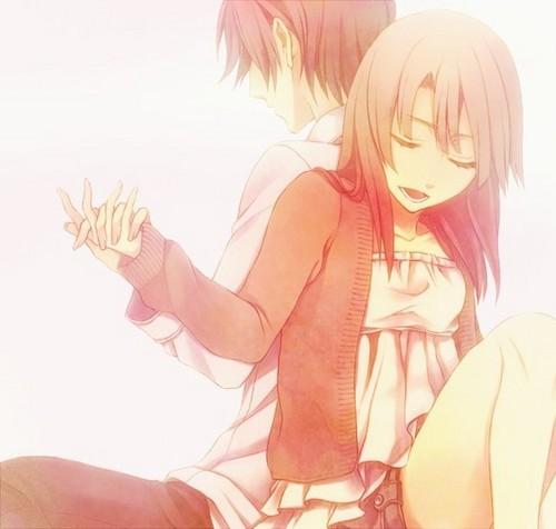 kawaii anime fondo de pantalla probably with anime called ♥Kawaii Couples♥
