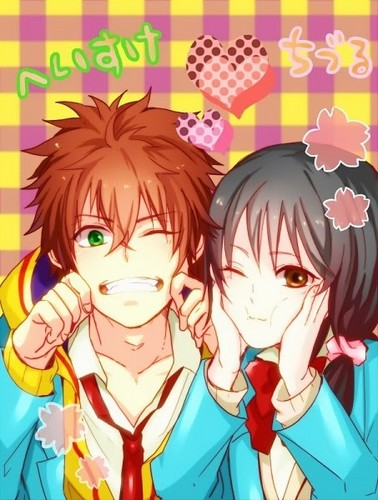 Kawaii Anime wallpaper with anime called ♥Kawaii Couples♥