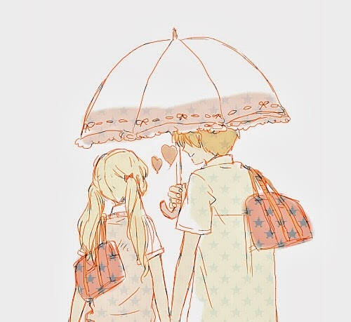 Kawaii Anime wallpaper containing a lampshade called ♥Kawaii Couples♥