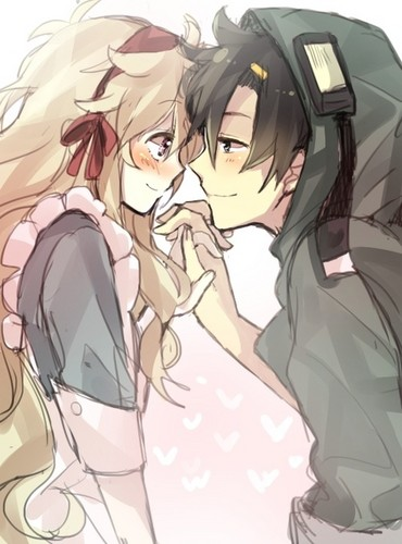 kawaii anime wallpaper possibly with anime entitled ♥Kawaii Couples♥