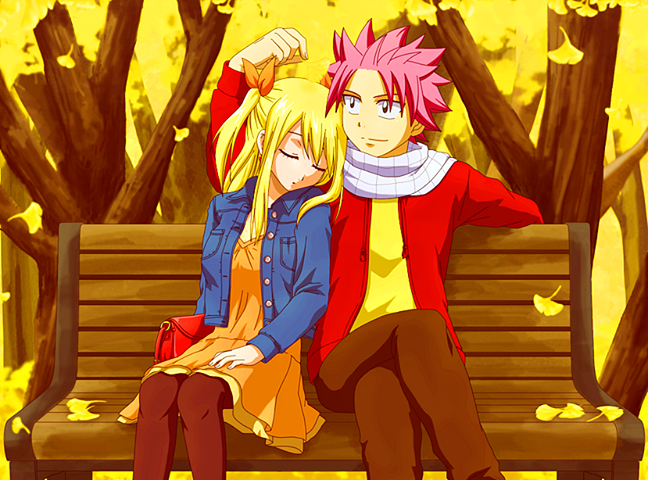 fairy tail wallpaper natsu and lucy