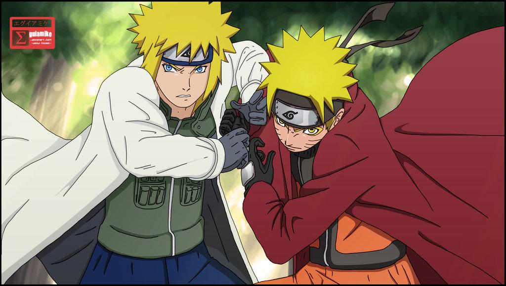 *Naruto & Minato* - Minato Namikaze Photo (35513706) - Fanpop