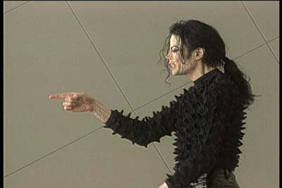"Michael Jackson wallpaper called ""Scream"""