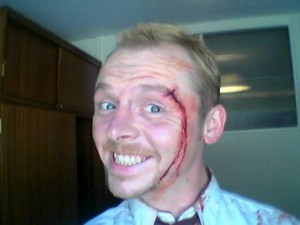 ~Simon in Shaun Of The Dead BTS~