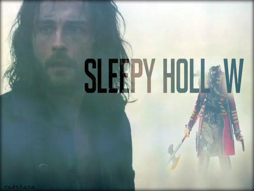 Sleepy Hollow (TV Series) karatasi la kupamba ukuta possibly containing a sign titled ★ Sleepy Hollow ☆