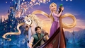 tangled - 105_FlynnMax_SwordFight wallpaper