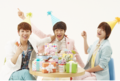 130914 Sunggyu, l & Sungjong – Natuur Pop Facebook Update