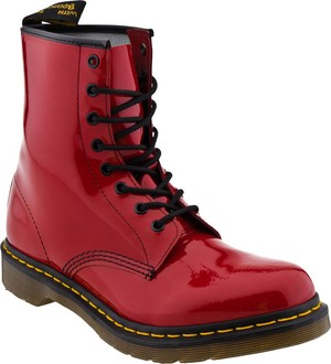 1460 Red Patent