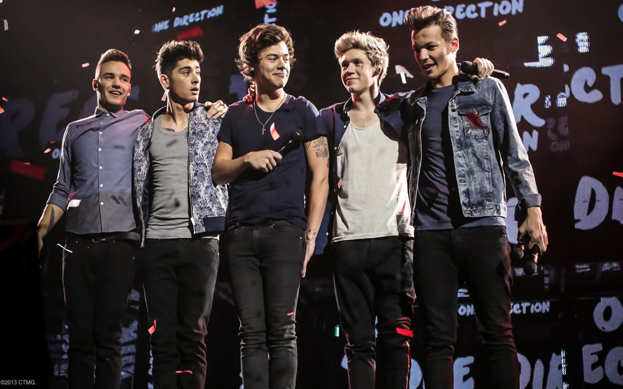 One Direction fond d'écran with a concert and a business suit called 1D Wallpapers