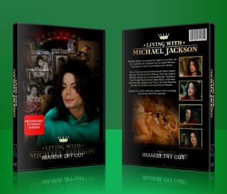 "Michael Jackson wallpaper containing a videocassette and anime called 2003 Documentary, ""Living With Michael Jackson"" On DVD"