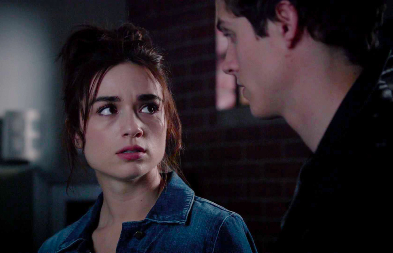 isaac and allison kiss episode