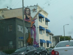A Mural In Honor Of Teena Marie