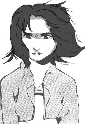 A drawing of mulan I did~