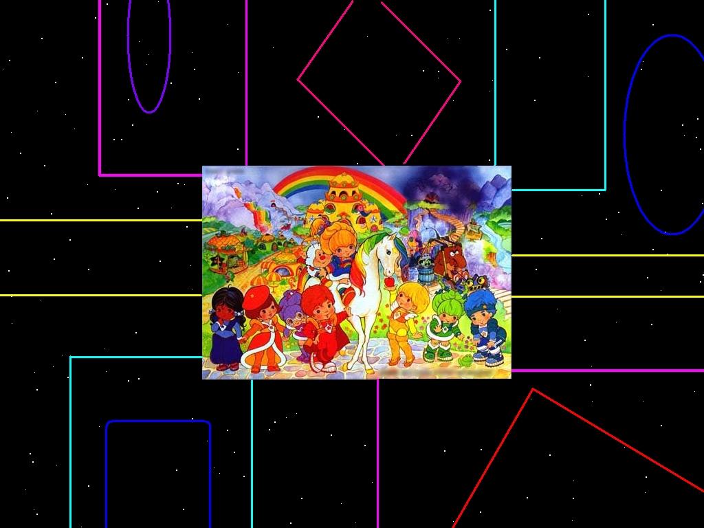 4k rainbow shining space - photo #31