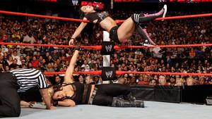 AJ Lee's tattoo tribute to her Divas Championship win
