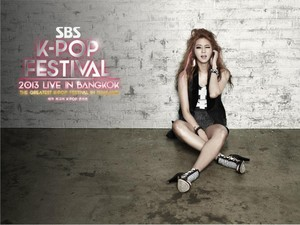 After School Unseen teasers for SBS Kpop Festival 2013 Live in Bangkok