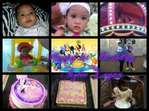 Aizlee Logan 1st Birthday