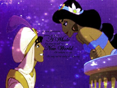 Aladin and jimmy, hunitumia karatasi la kupamba ukuta called Aladin And jimmy, hunitumia