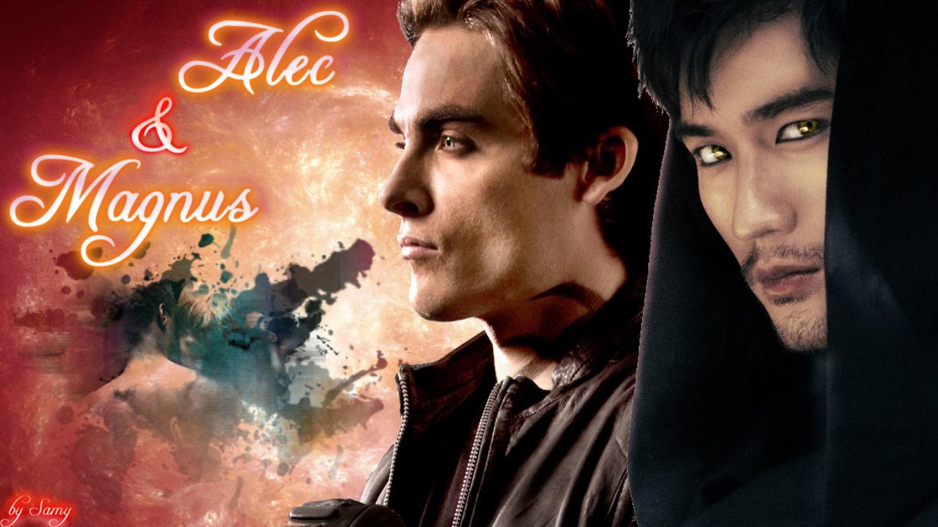 Alec and Magnus 壁紙