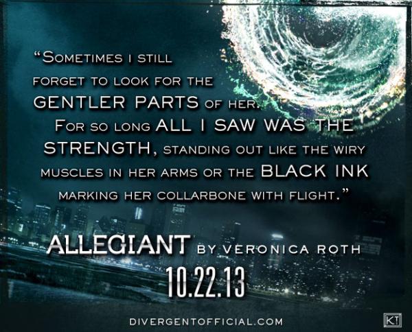Allegiant Quotes Tris ...