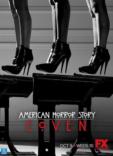 अमेरिकन हॉरर स्टोरी वॉलपेपर possibly containing a hip boot entitled American Horror Story - Season 3 - Promotional Posters