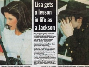 An artigo Pertaining To Michael And Lisa Marie