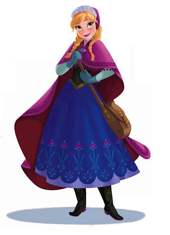 Anna 2d Disney Princess Photo 35586149 Fanpop