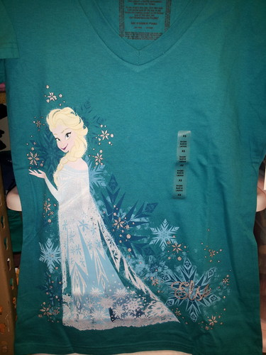 Elsa T-shirt - frozen Photo
