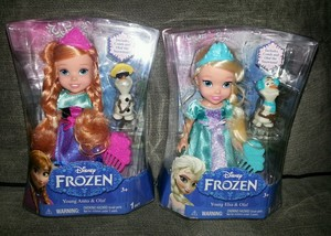 Anna and Elsa bambole