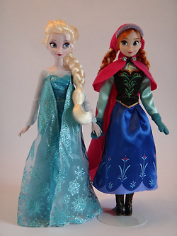 Anna and Elsa búp bê