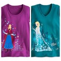 Anna and Elsa Disney Store T-shirt