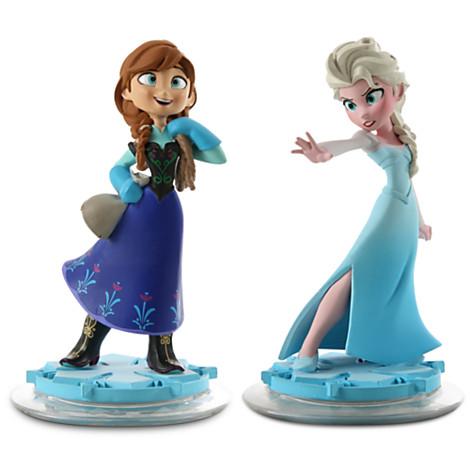 Anna And  Elsa In  Disney  Infinity Frozen