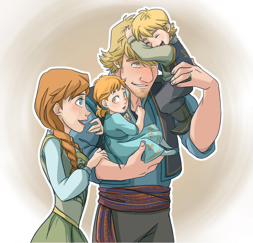 Anna and Kristoff's Family - Kristoff Fan Art (35520797 ...