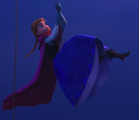 Princess Anna kertas dinding titled Anna