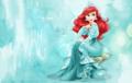 Ariel - wallpaper