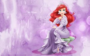 Ariel - karatasi la kupamba ukuta