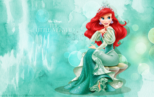 disney princesas wallpaper titled Ariel - wallpaper