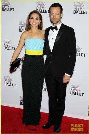 Attending the New York City Ballet 2013 Fall Gala at David H. Koch Theater, लिंकन Center, NYC (Sep