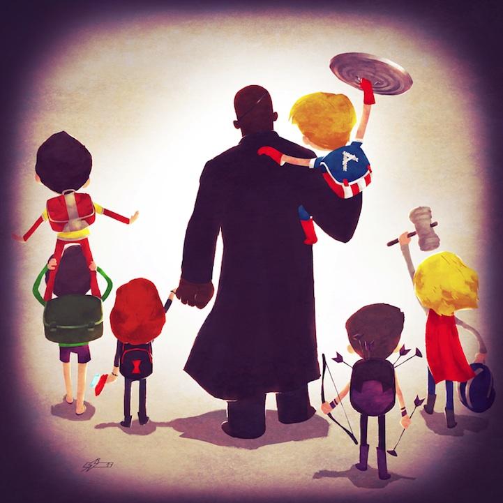 Avenger Family