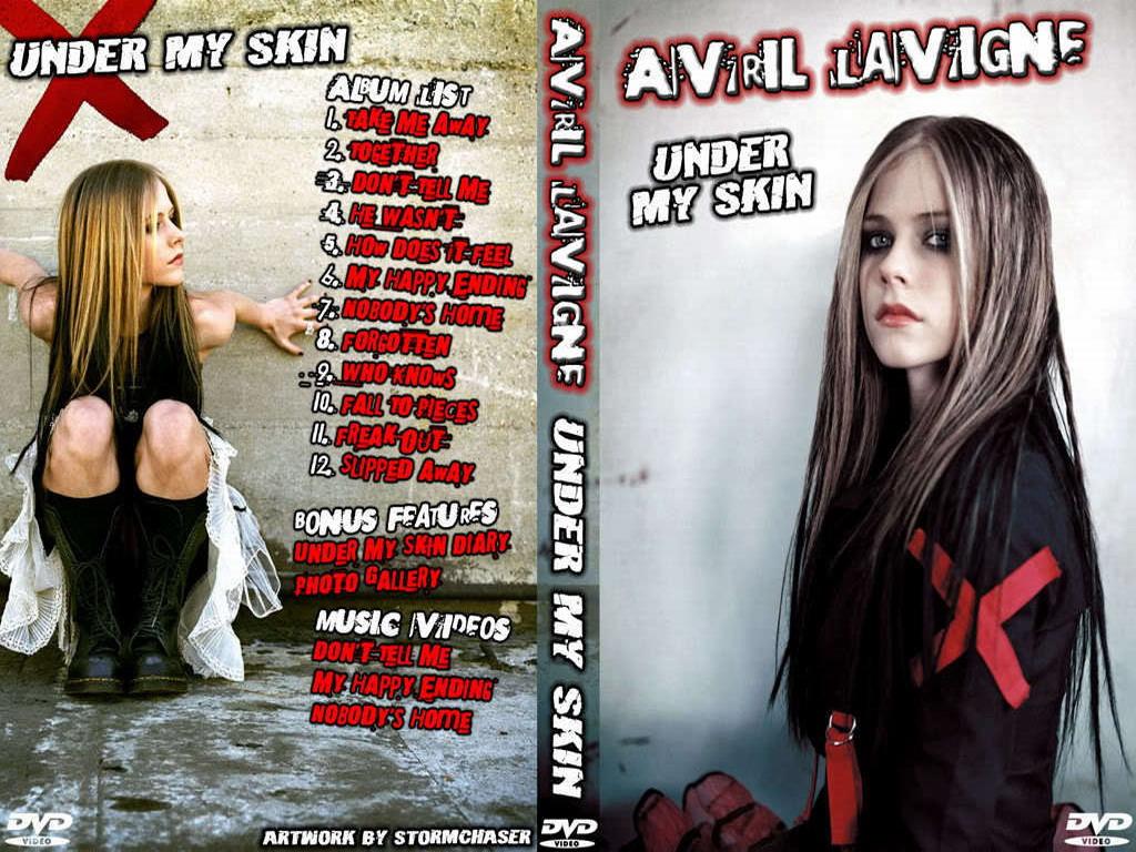 Avril Lavigne Under My Skin Wallpaper