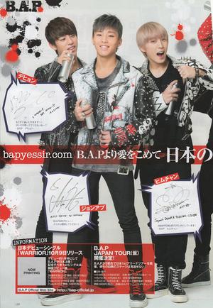 B.A.P in K-Boy Paradise Vol.10