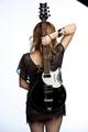 Vickie Peterson of The Bangles - female-rock-musicians photo